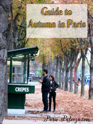 Guide to Autumn in Paris